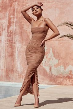 Elba Chiffon Maxi Dress – Epic Outfits Source by bukekamanyathela coctel Short Beach Dresses, Sexy Dresses, Fashion Dresses, Prom Dresses, Dress Outfits, Casual Dresses, Womens Party Dresses, Summer Formal Dresses, Halter Dresses