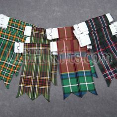 how to make tartan flashes