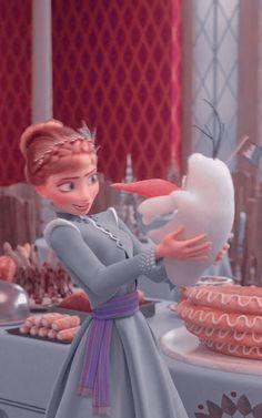 fc: polarrff Frozen Elsa And Anna, Disney Frozen, Elsa Anna, Disney Movies, Disney Characters, Disney Icons, Olaf, Cinderella, Cartoon