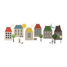 stickers maisons