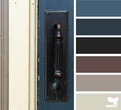a door blue
