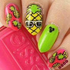Ananas nails
