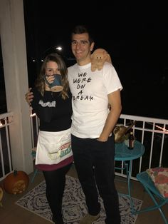 ross and rachel halloween costume