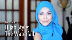 This one looks so cool and is so easy! The Waterfall by Adlina Anis