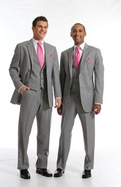 Heather Gray Suits from Jean Yves    www.burchandhatfield.com