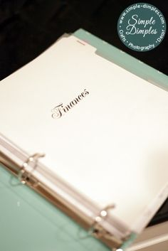 Seriously - the best home binder PDF's I've found on Pinterest!