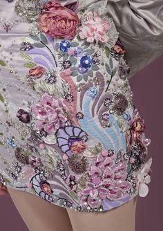 Karen Torrisi -  Hand & Lock 1st Prize for Embroidery Design 2011