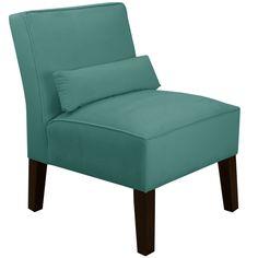 Velvet Slipper Chair | Wayfair