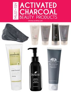 If you think charcoal is simply a fuel source, think again. This product is popping up in all sorts of skin care products. #skin #charcoal