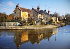 Spring Morning in Avoncliff, UK jigsaw puzzle in Street View puzzles on TheJigsawPuzzles.com