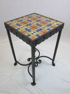 spanish revival california tile & wrought by Bushereironstudio, $2800.00