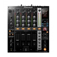 Pioneer's new four-channel digital mixer takes FX manipulation and software synergy to new levels, thanks to the new Boost Colour FX and a built-in kHz USB sound card. House Music, Music Is Life, Location Paris, Location Table, Mc Intosh, Music Production Equipment, Music Mixer, Allen And Heath, Musica