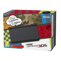 La New Nintendo 3DS presenta un hardware mejorado que ofrece la funcionalidad de su antecesora añadiendo una tecnología 3D mucho más cómoda, mejores controles, más potencia y duración de la batería, unas pantallas mayores, compatibilidad con las figuras amiibo y la posibilidad de personalizarla intercambiando las carcasas.