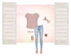 """""""Rose Gold"""" by theabreen39sassy ❤ liked on Polyvore featuring rag & bone/JEAN, Monsoon, H&M, Maison Margiela and Charlotte Tilbury"""