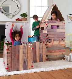 Fantasy Fort-32 Piece Set in Play Spaces