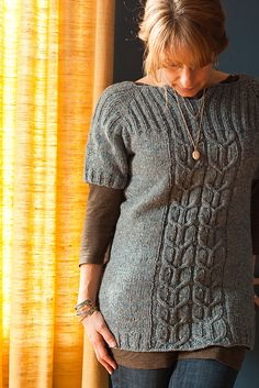 Ravelry: Irish Coffee pattern by Thea Colman // love this idea for layering in winter//would make longer sleeves