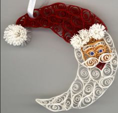 Santa Ornament  by tj4heels, via Flickr