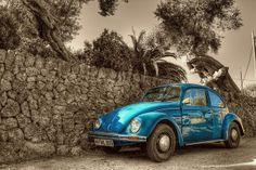 VW Beetle #turquoise