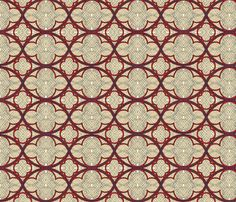 medieval illumination fabric by unseen_gallery_fabrics on Spoonflower - custom fabric