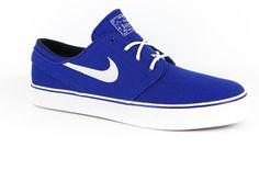 Nike SB Zoom Stefan Janoski SB Skate Shoes - old royal/midnight navy/white