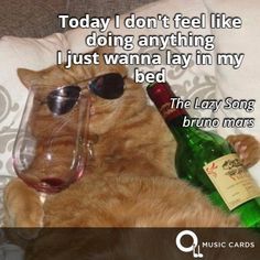 Leave a message at the tone. #Caturday #BrunoMars #QuoteCards