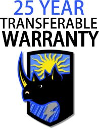 Rhino Shield Ceramic Coatings come with a 25 year, transferable warranty.