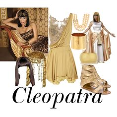 Nothing like being Cleopatra. Plus, HE could go as Cesar.