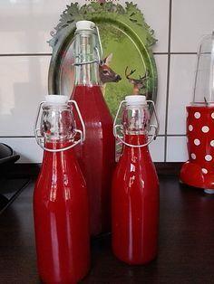 Schneller Himbeerlikör (ohne Reifen), ein schmackhaftes Rezept aus der Kategorie Frucht. Bewertungen: 7. Durchschnitt: Ø 4,1.