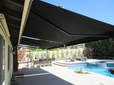 Lovely 1 Motorized Retractable Awning Company In La Verne, California. Check Out  This Recent Roof Mount Installation In Southern California.