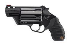 """Taurus introduced the first polymer Judge at the 2010 SHOT Show. Called the """"Public Defender Polymer,"""" this Taurus Judge features a frame entirely made Taurus Judge, Target Style, Guns And Ammo, Weapons Guns, Hand Guns, Public, Shtf, Firearms, Amazon"""