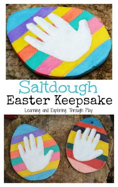 Learning and Exploring Through Play: Easter Keepsake Decorations for Kids