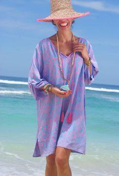 Túnica+de+playa+o+borlas+playa+cubierta+de+playa+vestido Beach Tunic, Aud, Blue Grey, Tassels, Cover Up, African, Street, Bikinis, Check
