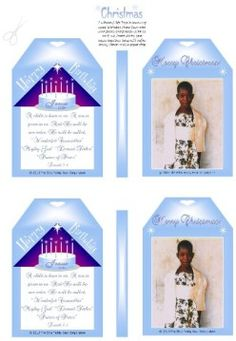 Cute Christmas gift tags ~ add your child's photo! Plus heaps of Christmas Nativity free printables