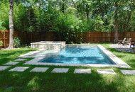 Inground Straight Line Pool