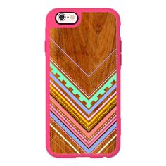 iPhone 7 Plus/7/6 Plus/6/5/5s/5c Case - Aztec Arbutus ($40) ❤ liked on Polyvore featuring accessories, tech accessories, new standard iphone case, apple iphone case, aztec print iphone case, iphone hard case, iphone cases and aztec iphone case