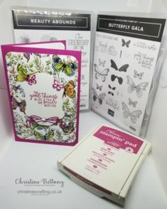 Botanical Butterfly DSP – Christine's Crafting by Christine Bettany