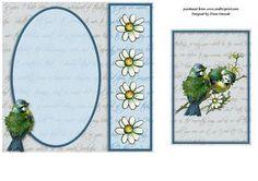 Love Birds Topper Insert on Craftsuprint - View Now!