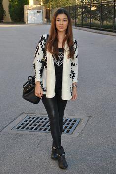 Frolic Kimono Cardigan - Black White Ikat Print | F R O L I C ...