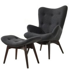 Poly and Bark Contour Lounge Chair and Ottoman   Overstock.com Shopping - The Best Deals on Living Room Chairs