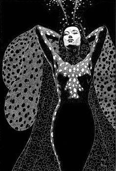 Illustration by Virgil Finlay ♛
