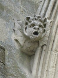 Salisbury Cathedral Chimera - Wilt's - Gargoyles on Waymarking.com