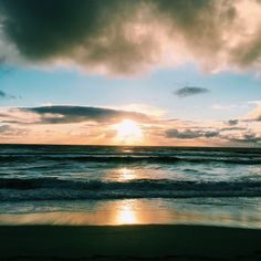 Sunset @Unstad, Lofoten - Norway Lofoten, Norway, Landscapes, Celestial, Sunset, Beach, Travel, Outdoor, Blogging