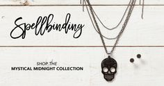 Color By Amber | Eco Friendly Jewelry ~ Mystic Midnight Halloween Collection only available until 10/31.  Get yours before it's gone!