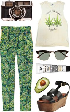 Plant that goddamn tree by cigerett featuring colorful pants
