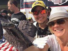 VL selfie for Martin Truex Jr and his girlfriend!