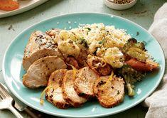 Sheet Pan Lemon Garlic Chicken And Veggies Recipe | I love my food