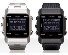 Coolest latest gadgets Citizen AIBATO M Bluetooth Watch New technology gadgets High tech electronic gadgets