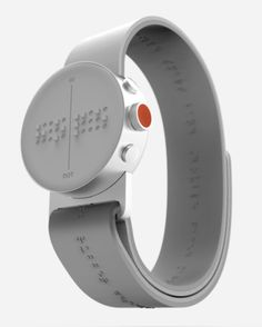 This Super Stylish Smartwatch Was Designed for the Blind  - PopularMechanics.com