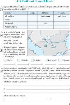 Mozaik Történelem 6 osztály témazáró feladatok adventi Teacher, Map, History, Decor, Professor, Historia, Decoration, Location Map