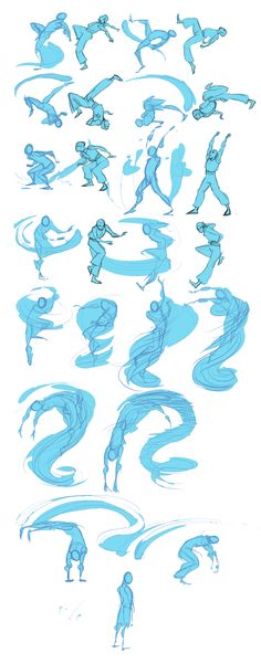 Drawings - Once upon a time I thought I'd animate my character Li performing an original water bending form Then I got half way through 'lining' the key frames and recovered my sanity I was just looking thr Animation Reference, Drawing Reference Poses, Hand Reference, Drawing Base, Figure Drawing, Water Drawing, Water Sketch, Drawing Lips, Art Tutorials